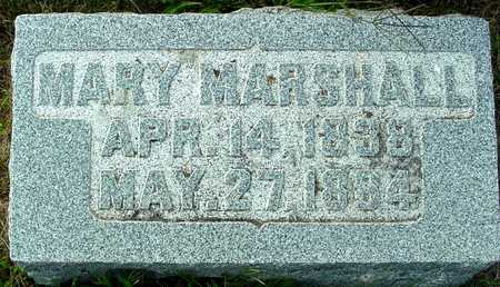 MARSHALL, MARY - Ida County, Iowa | MARY MARSHALL