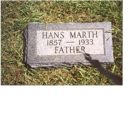 MARTH, HANS - Ida County, Iowa | HANS MARTH