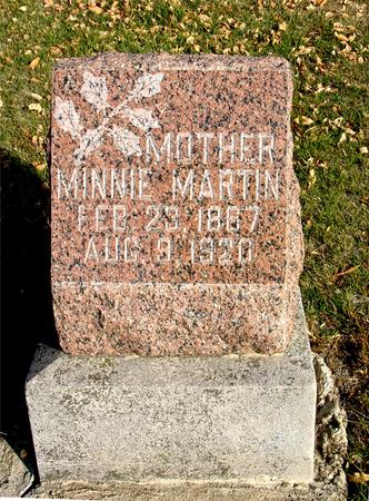 MARTIN, MINNIE - Ida County, Iowa | MINNIE MARTIN