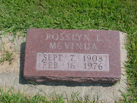 MC  VINUA, ROSSLYN E. - Ida County, Iowa | ROSSLYN E. MC  VINUA