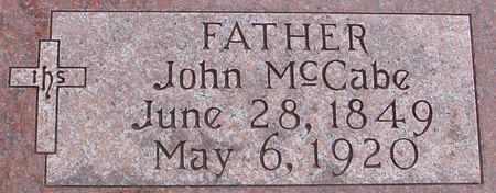 MCCABE, JOHN - Ida County, Iowa | JOHN MCCABE