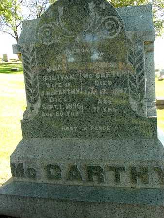 MCCARTHY, JOHN & MARY - Ida County, Iowa | JOHN & MARY MCCARTHY