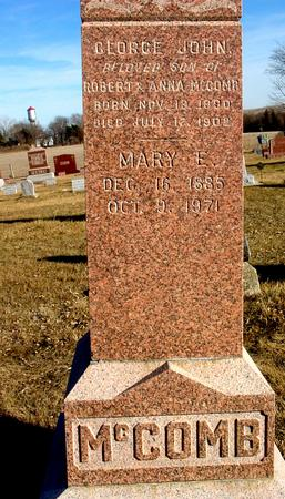 MCCOMB, MARY E. - Ida County, Iowa | MARY E. MCCOMB
