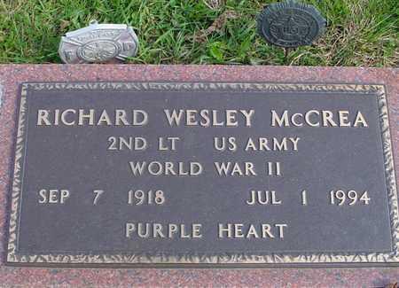 MCCREA, RICHARD WESLEY - Ida County, Iowa | RICHARD WESLEY MCCREA