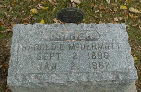 MCDERMOTT, HAROLD E. - Ida County, Iowa | HAROLD E. MCDERMOTT