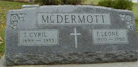 MCDERMOTT, T. CYRIL & LEONE - Ida County, Iowa | T. CYRIL & LEONE MCDERMOTT
