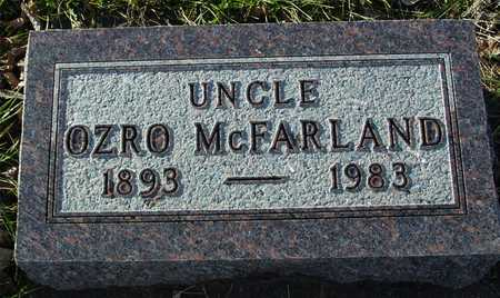 MCFARLAND, UNCLE OZRO - Ida County, Iowa | UNCLE OZRO MCFARLAND