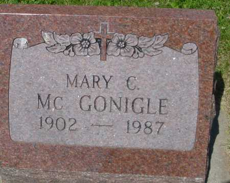 MCGONIGLE, MARY C. - Ida County, Iowa | MARY C. MCGONIGLE