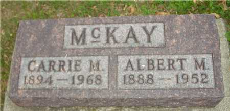 MCKAY, ALBERT & CARRIE - Ida County, Iowa | ALBERT & CARRIE MCKAY