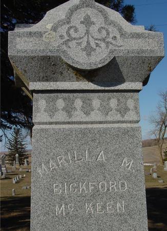 BICKFORD MCKEEN, MARILLA M. - Ida County, Iowa | MARILLA M. BICKFORD MCKEEN
