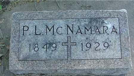 MCNAMARA, P. L. - Ida County, Iowa | P. L. MCNAMARA