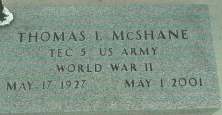 MCSHANE, THOMAS L. - Ida County, Iowa   THOMAS L. MCSHANE