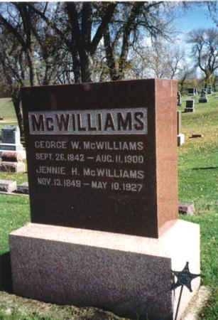 MCWILLIAMS, GEORGE - Ida County, Iowa | GEORGE MCWILLIAMS