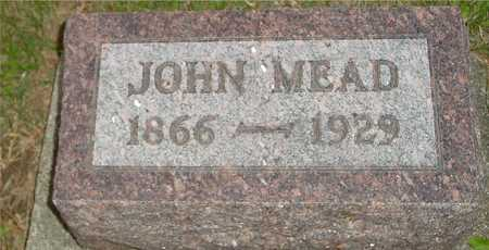 MEAD, JOHN - Ida County, Iowa | JOHN MEAD