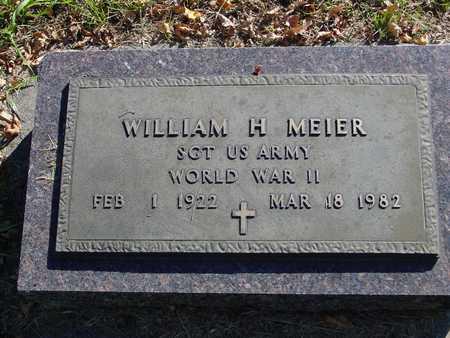 MEIER, WILLIAM H. - Ida County, Iowa | WILLIAM H. MEIER