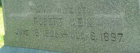 MEIN, ANN - Ida County, Iowa | ANN MEIN