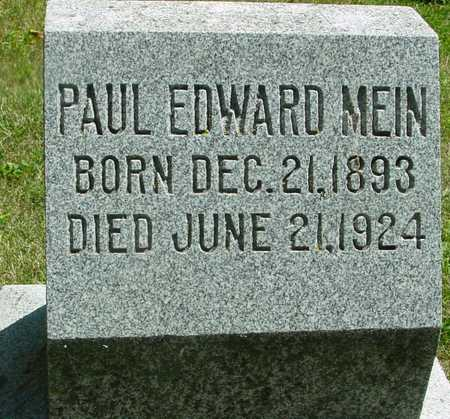 MEIN, PAUL EDWARD - Ida County, Iowa | PAUL EDWARD MEIN