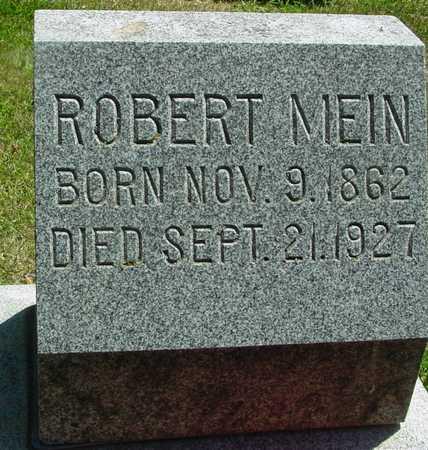 MEIN, ROBERT - Ida County, Iowa | ROBERT MEIN