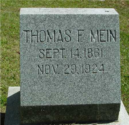 MEIN, THOMAS F. - Ida County, Iowa | THOMAS F. MEIN