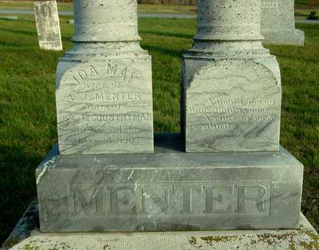 MENTER, IDA MAY - Ida County, Iowa | IDA MAY MENTER