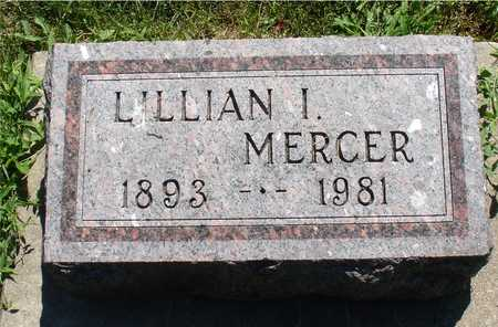 MERCER, LILLIAN I. - Ida County, Iowa | LILLIAN I. MERCER