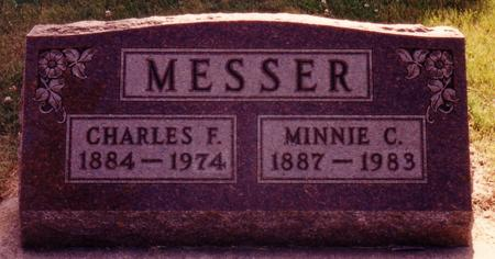 MESSER, MINNIE C. - Ida County, Iowa | MINNIE C. MESSER