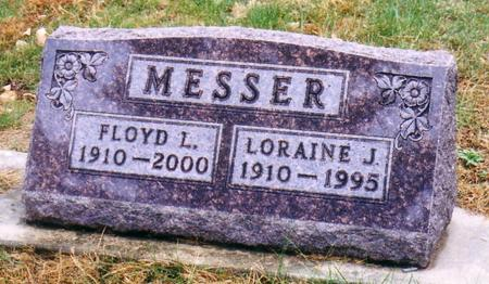 MESSER, LORAINE JESSIE - Ida County, Iowa | LORAINE JESSIE MESSER