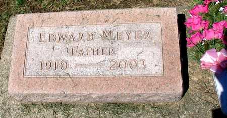 MEYER, EDWARD - Ida County, Iowa   EDWARD MEYER