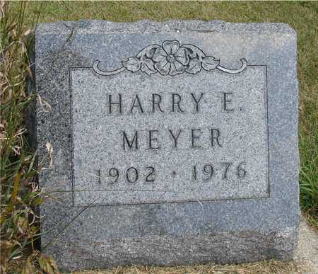 MEYER, HARRY E. - Ida County, Iowa | HARRY E. MEYER