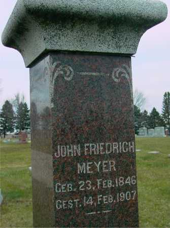 MEYER, JOHN FRIEDRICH - Ida County, Iowa | JOHN FRIEDRICH MEYER
