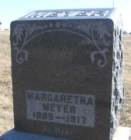 MEYER, MARGARETHA - Ida County, Iowa | MARGARETHA MEYER