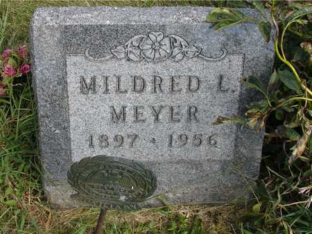 MEYER, MILDRED L. - Ida County, Iowa | MILDRED L. MEYER