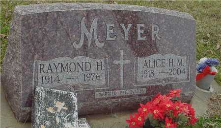 MEYER, RAYMOND & ALICE - Ida County, Iowa | RAYMOND & ALICE MEYER
