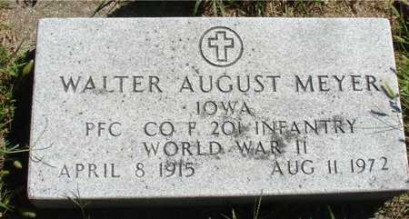 MEYER, WALTER AUGUST - Ida County, Iowa | WALTER AUGUST MEYER