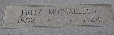 MICHAELSEN, FRITZ - Ida County, Iowa | FRITZ MICHAELSEN