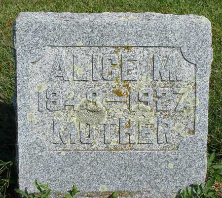 MIGHELL, ALICE M. - Ida County, Iowa | ALICE M. MIGHELL