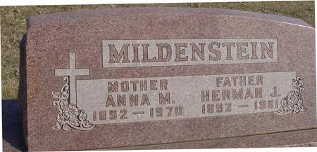 MILDENSTEIN, HERMAN & ANNA - Ida County, Iowa | HERMAN & ANNA MILDENSTEIN