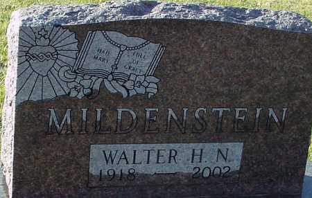 MILDENSTEIN, WALTER H. - Ida County, Iowa | WALTER H. MILDENSTEIN