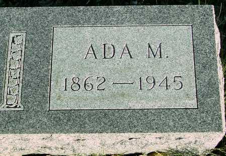 MILLER, ADA M. - Ida County, Iowa | ADA M. MILLER