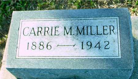 MILLER, CARRIE M. - Ida County, Iowa | CARRIE M. MILLER