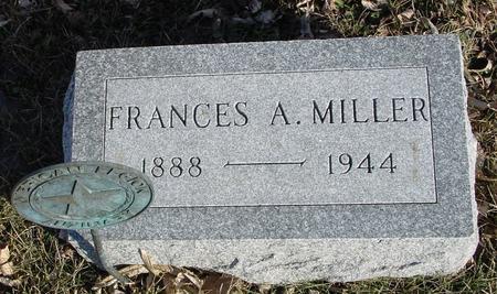 MILLER, FRANCES A. - Ida County, Iowa | FRANCES A. MILLER