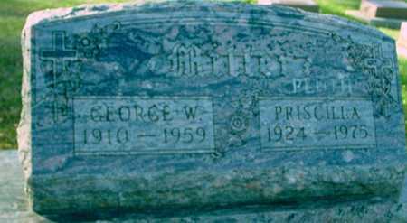 MILLER, GEORGE & PRISCILLA - Ida County, Iowa | GEORGE & PRISCILLA MILLER