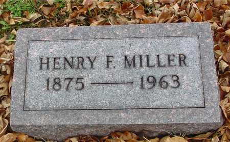 MILLER, HENRY F. - Ida County, Iowa | HENRY F. MILLER