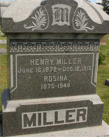 MILLER, HENRY & ROSINA - Ida County, Iowa | HENRY & ROSINA MILLER