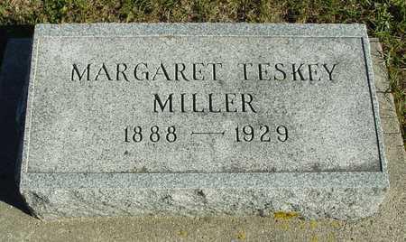 TESKEY MILLER, MARGARET - Ida County, Iowa | MARGARET TESKEY MILLER