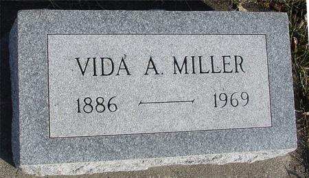MILLER, VIDA A. - Ida County, Iowa | VIDA A. MILLER