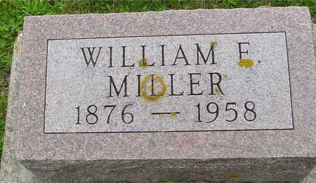 MILLER, WILLIAM E. - Ida County, Iowa | WILLIAM E. MILLER