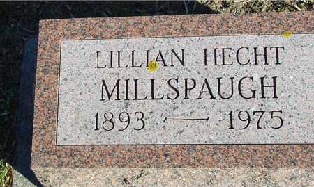 HECHT MILLSPAUGH, LILLIAN - Ida County, Iowa | LILLIAN HECHT MILLSPAUGH