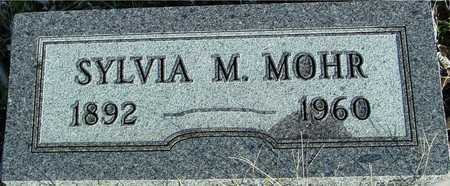 MOHR, SYLVIA M. - Ida County, Iowa | SYLVIA M. MOHR