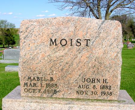 MOIST, JOHN - Ida County, Iowa | JOHN MOIST